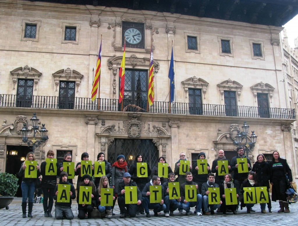 El Ayuntamiento de Palma decidirá en Pleno si se declara 'ciudad antitaurina'