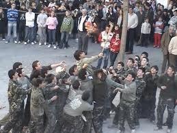 El Puig vuelve a celebrar la 'batalla de ratas'