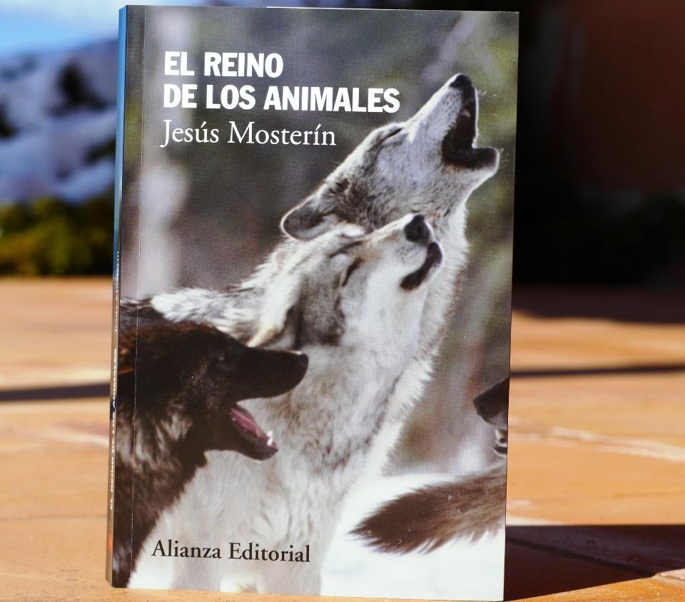El Reino De Los Animales Nuevo Libro De Jesús Mosterín Partido Animalista Pacma