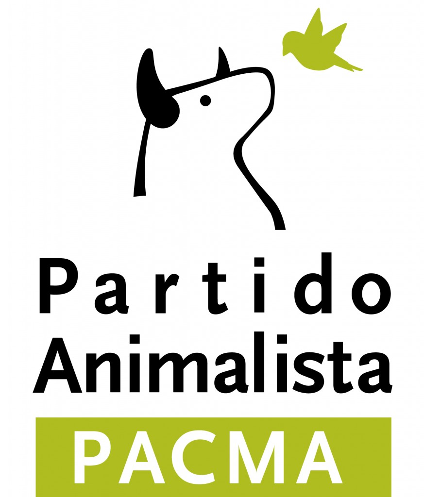 Nuevo logo del Partido Animalista -PACMA-
