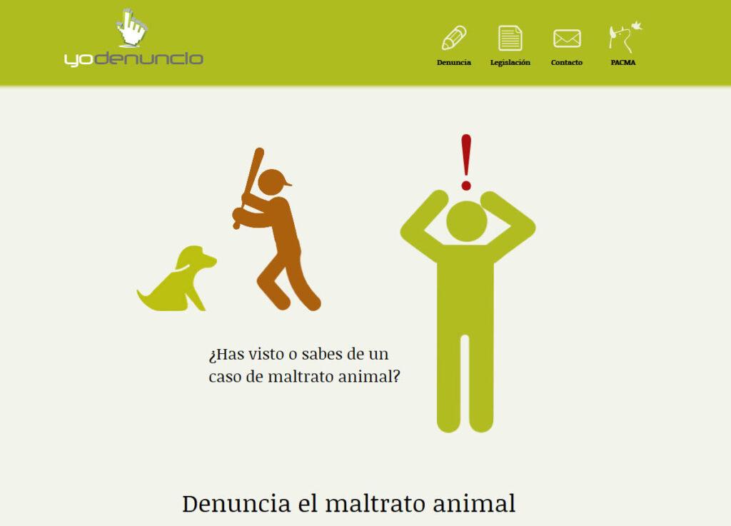 Presentamos Yo Denuncio, la primera web para denuncias de maltrato animal