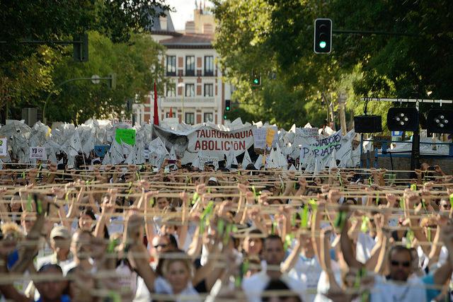 ¡Ven a Madrid a la manifestación contra el Toro de la Vega!