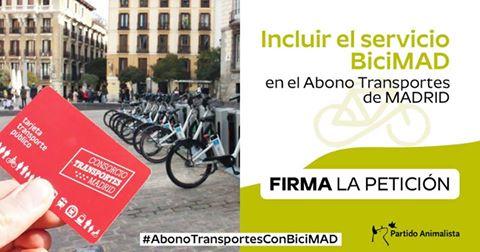 Campaña BiciMAD