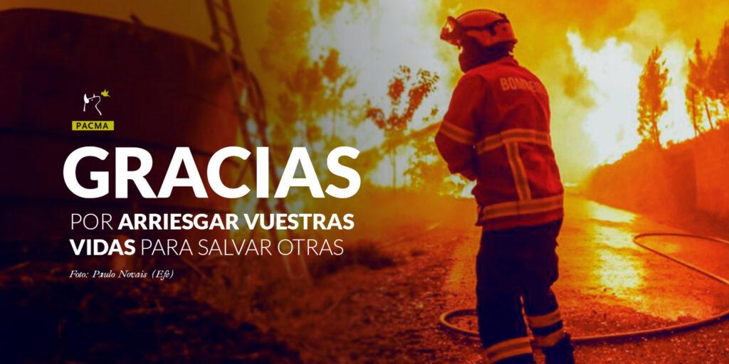 cartela agradecimiento bomberos