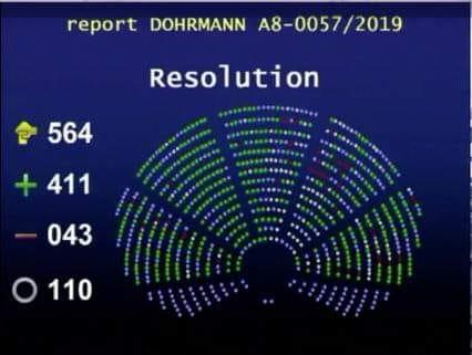 resultado voto transporte animales UE