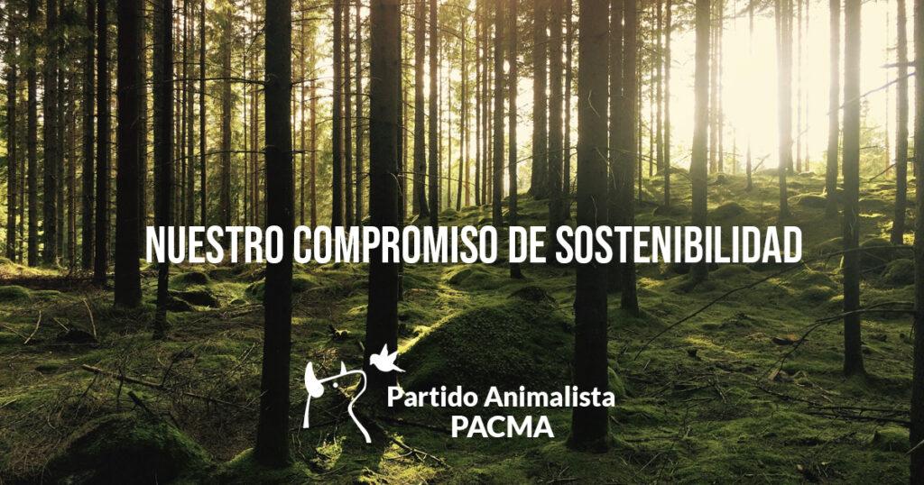 Compromiso de sostenibilidad de PACMA