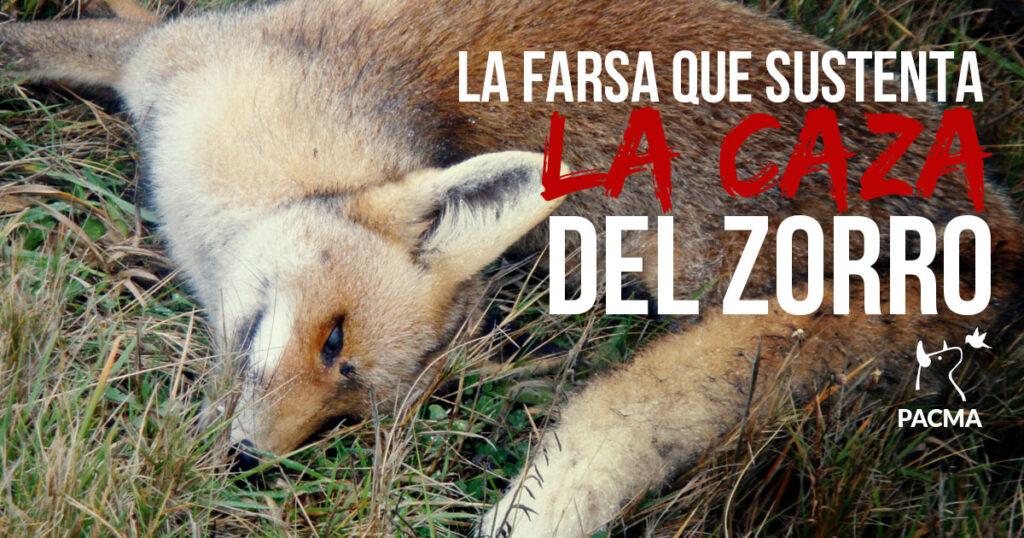 La farsa que sustenta la caza del zorro