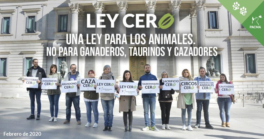La Ley Cero, una ley para los animales, no para ganaderos, taurinos y cazadores